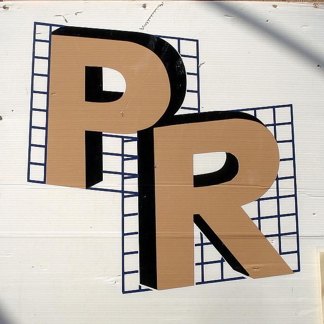 PR = Public Relation