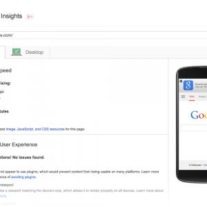 Page Speed Insight eszköz