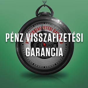 Pénz visszafizetési garancia